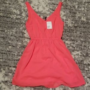 *NEW* H&M Neon Pink Dress (4)